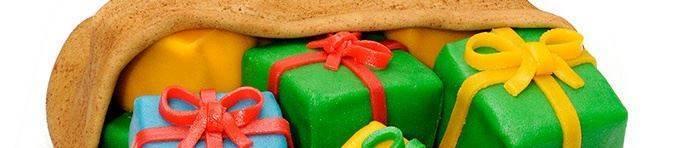 Pakjestaart Sinterklaastaart