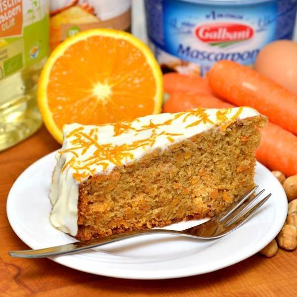 Worteltaart recept carrot cake